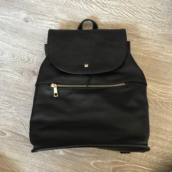 asos bags design soft backpack with zip detail poshmark rh poshmark com